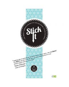 Stick It Large Size die-cut adhesive (5 sheet pack)