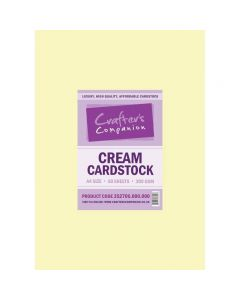 Crafter's Companion Cream Cardstock A4 - Pack of 50