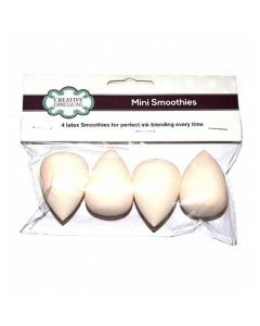 Creative Expressions Mini Smoothie Blending Sponges (4 Pack)