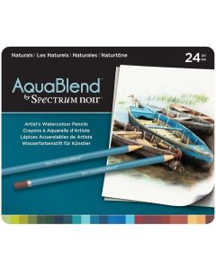 AquaBlend by Spectrum Noir 24 Pencil Set - Naturals