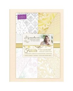 Sara Signature Together Forever Collection - A4 Luxury Foiled Card Pad