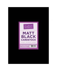 Matt Black A4 Cardstock - Pack of 40 thumb