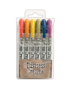 Tim Holtz Distress Crayons - Set 2