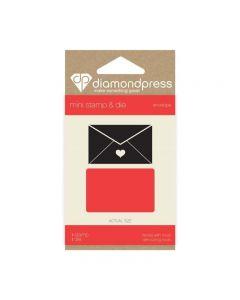 Diamond Press Mini Stamp and Die - Envelope