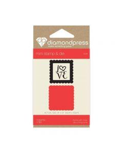 Diamond Press Mini Stamp and Die - Love