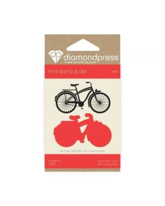 Diamond Press Mini Stamp and Die - Bike