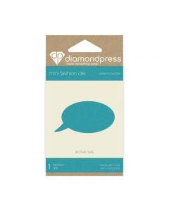 Diamond Press Mini Stamp and Die - Speech Bubble