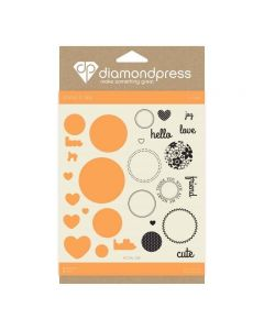Diamond Press Stamp and Dies - Love Today