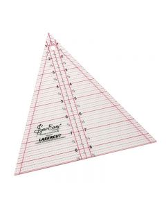 "Sew Easy 8.5""x7"" Patchwork Triangle Ruler"