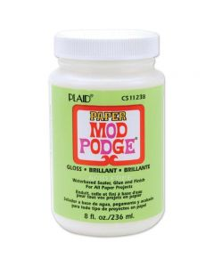 Mod Podge Paper 8oz Gloss