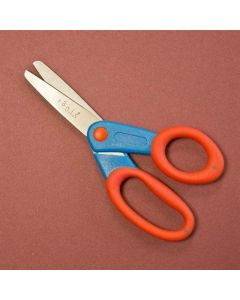 Kushgrip Kids scissor Blunt tip Blue/red thumb
