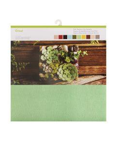 "Cricut 12"" x 12"" Felt Sampler (10 Pack) - Summer Sky"