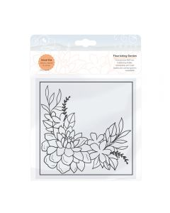 Tonic Studios Embossing Folder - Flourishing Garden