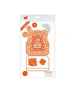 Tonic Studios Daisy Lace Easel Card Die Set
