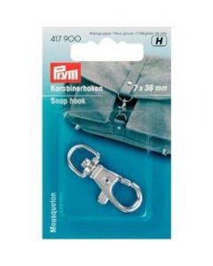Prym Silver 7mm x 38mm Snap Hook