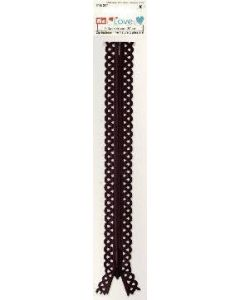 Prym 20cm Love Zip - Dark Brown
