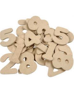 Creativ Wooden Numbers - 30 pack