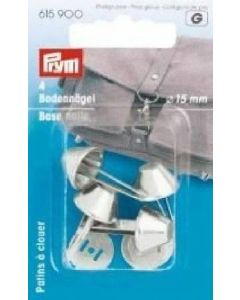Prym Silver 15mm Base Studs for Bags