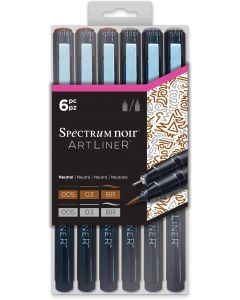 Artliner by Spectrum Noir - Neutral (6pc)
