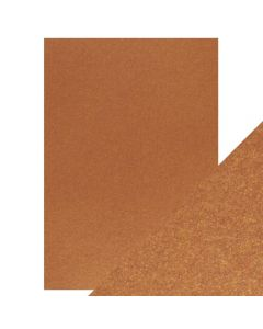 Tonic Studios Craft Perfect Pearlescent Card - Rusted Crimson