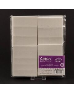 Crafter's Companion Large 3D Foam Pad Kit – 20 Sheets