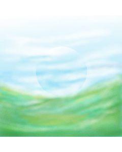 Imagination Crafts Patterned Card - Landscape Moon