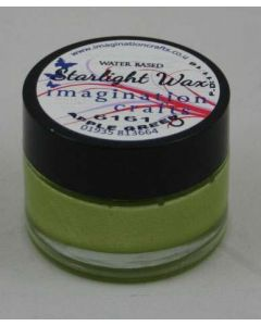 Imagination Crafts Starlight Wax - Apple Green