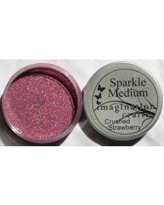 Imagination Crafts Sparkle Medium - Crushed Strawberry