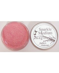 Imagination Crafts Sparkle Medium - Peach Heaven