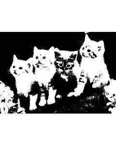 Imagination Crafts Art Stamps 135mm x 91mm - Cats