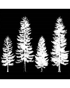 Imagination Crafts Art Stamps - Pine Trees