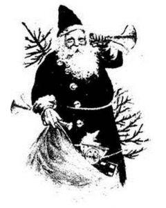 Imagination Crafts Art Stamps 135mm x 91mm - Santa Claus