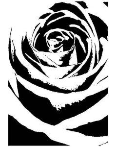 Imagination Crafts Art Stamps - Shadow Rose