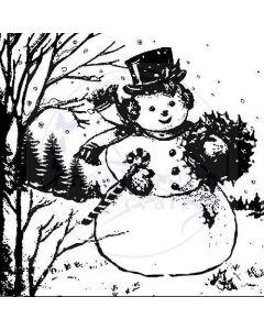Imagination Crafts Art Stamps - Snowman