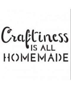 Imagination Crafts Mini Stencil - Craftiness Is All Homemade