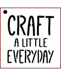 Imagination Crafts Mini Stencil - Craft A Little Everyday