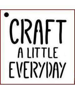 Imagination Crafts Mini Stencil - Craft A Little Everyday