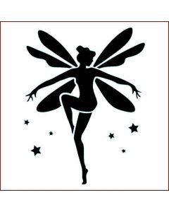 Imagination Crafts Stencil 6x6 - Fairy Dance