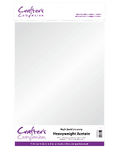 Crafter's Companion A3 Heavyweight Acetate (250 micron) - 10 Sheets