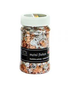 Claritystamp Gilding Flakes - Variegated Silver & Copper (M1)