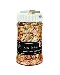 Claritystamp Gilding Flakes - Variegated Copper & Gold (M4)