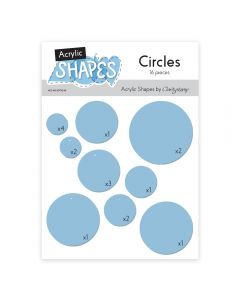 Claritystamp Acrylic Shapes - Circles