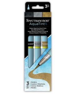 AquaTint by Spectrum Noir (3PK) - Metallics