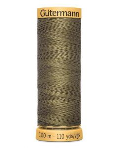 Gutermann 2T100C825 Natural Cotton Thread- 100m