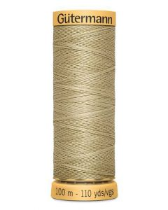 Gutermann 2T100C927 Natural Cotton Thread- 100m