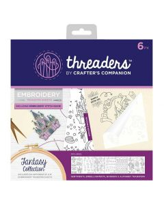 Threaders Embroidery Transfer Sheets - Fantasy