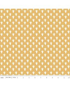 Riley Blake Azure Skies - Cactus Yellow