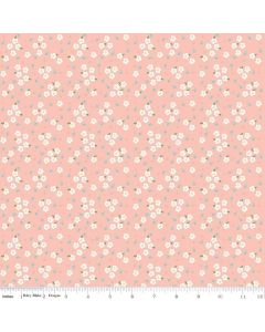 Riley Blake Azure Skies - Floral Blush