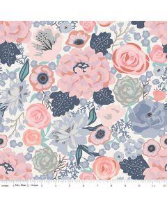 Riley Blake Edie Jane fabric - Main Cream