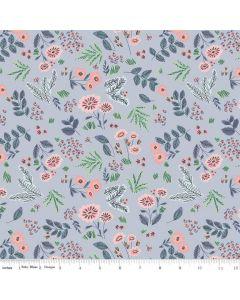 Riley Blake Edie Jane fabric - Floral Blue